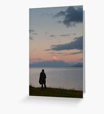 Chile Lakeside Greeting Card