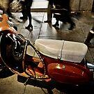 La Moto Roja by Vincent Riedweg