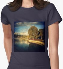 lakeside Womens Fitted T-Shirt