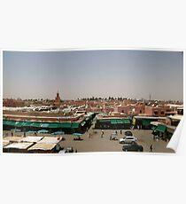 Djemaa El Fna, Marrakech Poster