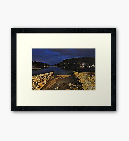 Pucon Lake Framed Print
