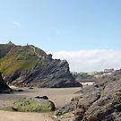 Towan Beach 2.0 - Newquay by clarebearhh