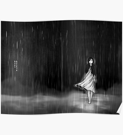 ... as the rain fell on me Poster