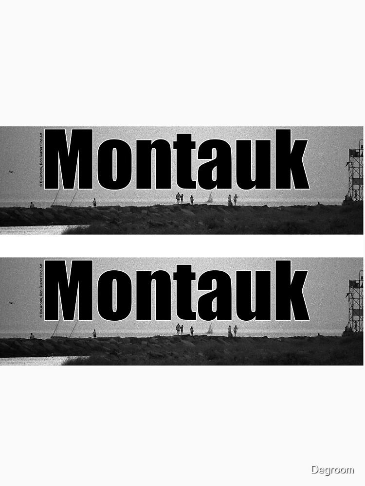 Montauk Jetty by Degroom