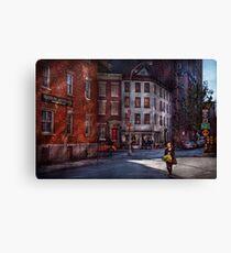 New York - City - Greenwich Village - Northern Dispensary  Canvas Print