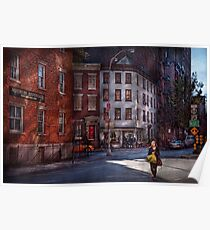 New York - City - Greenwich Village - Northern Dispensary  Poster