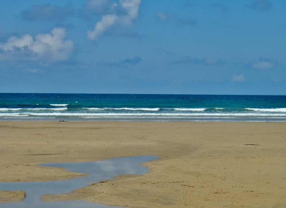Towan Beach 3.0 - Newquay by clarebearhh