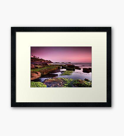 Mengening Beach Sunset - Bali Framed Print
