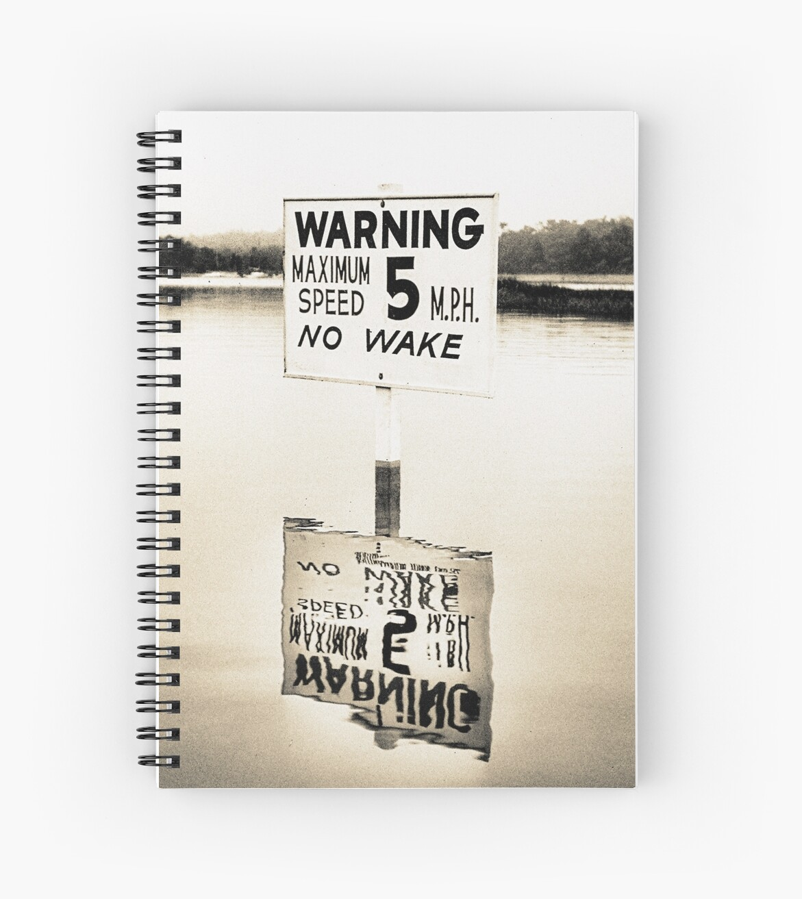 No Wake Sign by Degroom