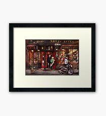 New York - Store - Greenwich Village - Three Lives Books  Framed Print
