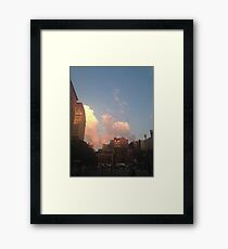 Union Square Framed Print
