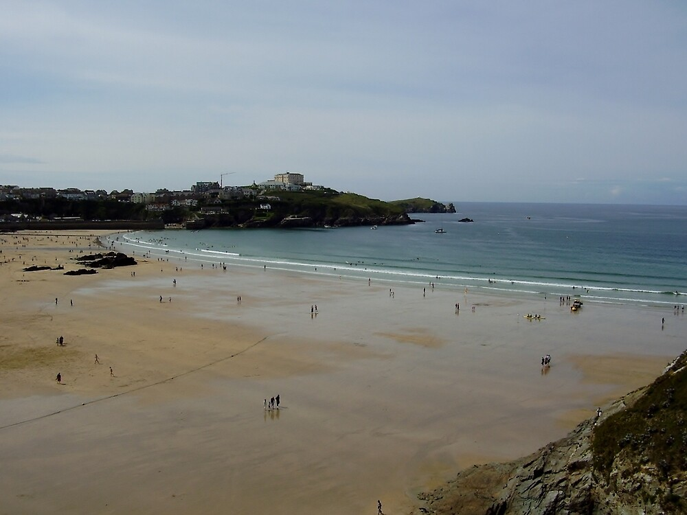 Towan Beach 5.0 - Newquay by clarebearhh