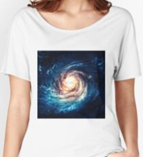 Foster the People Galaxy Print Women's Relaxed Fit T-Shirt