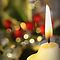 Flickering Christmas Candle Challenge ~ Peace Love & Tranquility