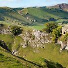 Peveril Castle, Castleton, Peak District by Mark Howells-Mead