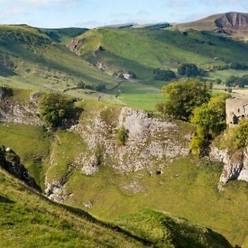 Peveril Castle, Castleton, Peak District by mhowellsmead