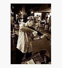 Entertainer Photographic Print