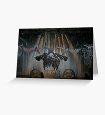 Danzig Live  Greeting Card