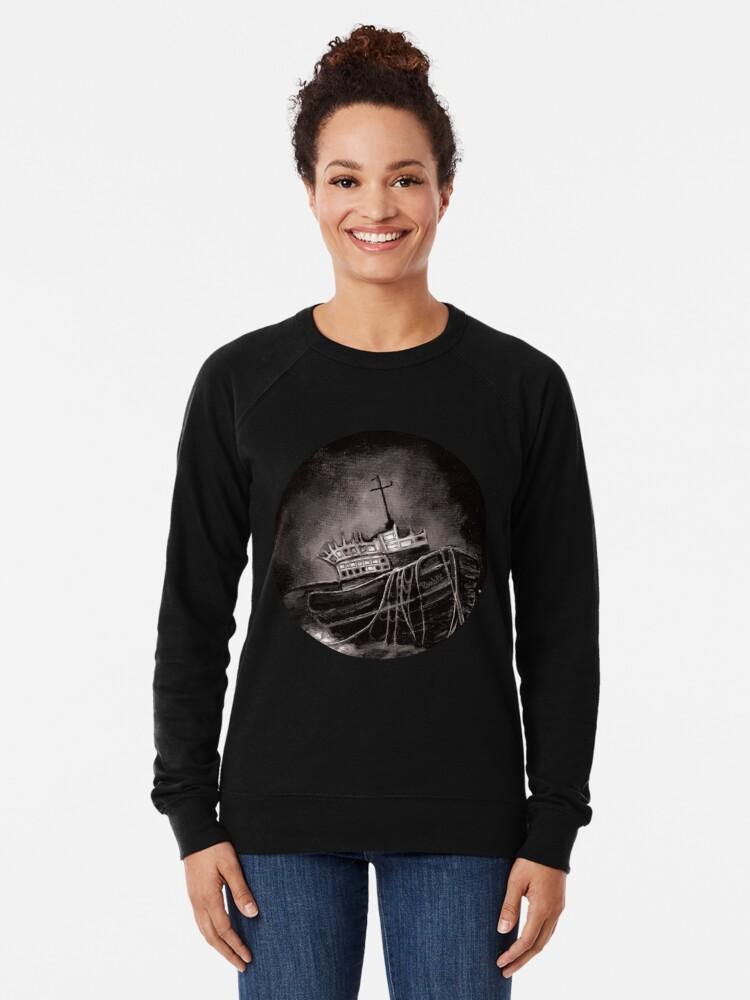 Alternate view of Dark Voyage Lightweight Sweatshirt