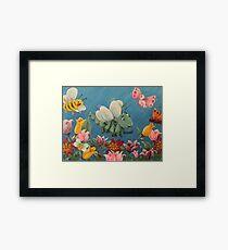 A Childs Wonder Land Framed Print