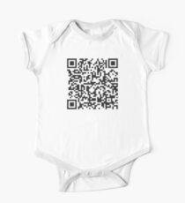 QR Code Quote - Technology Has Exceeded Our Humanity One Piece - Short Sleeve