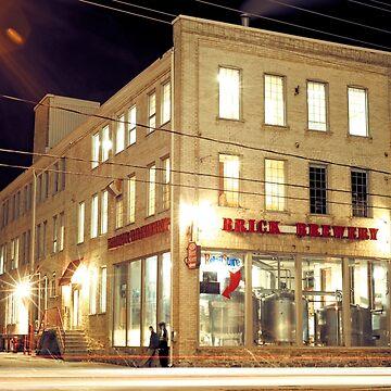 Brick Brewery, Waterloo, Ontario by stefanChirila