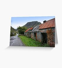 Abandoned Houses, Forgotten Lives Greeting Card