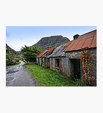 Abandoned Houses, Forgotten Lives Photographic Print