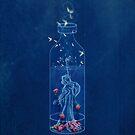 Moth and Raspberry Iced Tea by Barbora  Urbankova