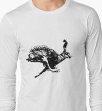 bounding hare Long Sleeve T-Shirt
