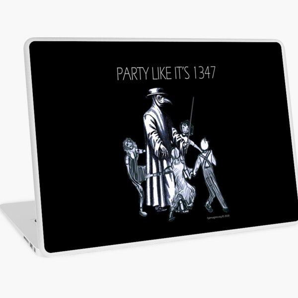Party Like It's 1347 Again Laptop Skin