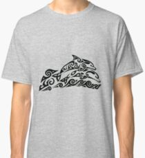 Tribal Dolphins Classic T-Shirt