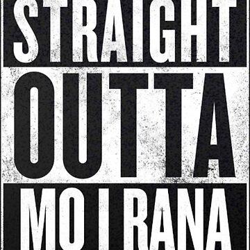 Straight Outta Mo i Rana by sherineheg