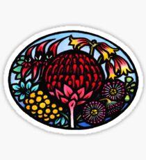 Australian WildFlowers Sticker