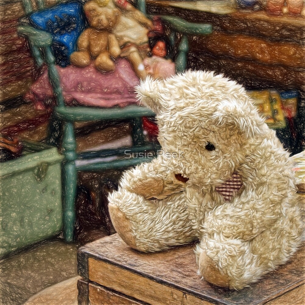 Bears For Sale - Impressions by Susie Peek