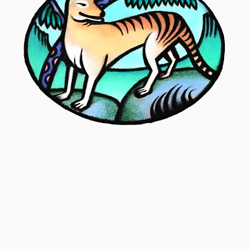 Tasmanian Tiger by lynchmob
