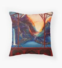Rivendell Valley Throw Pillow
