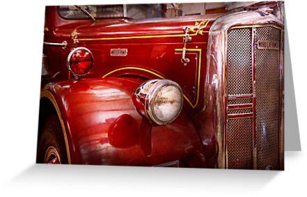 Fireman - Ward La France  by Michael Savad