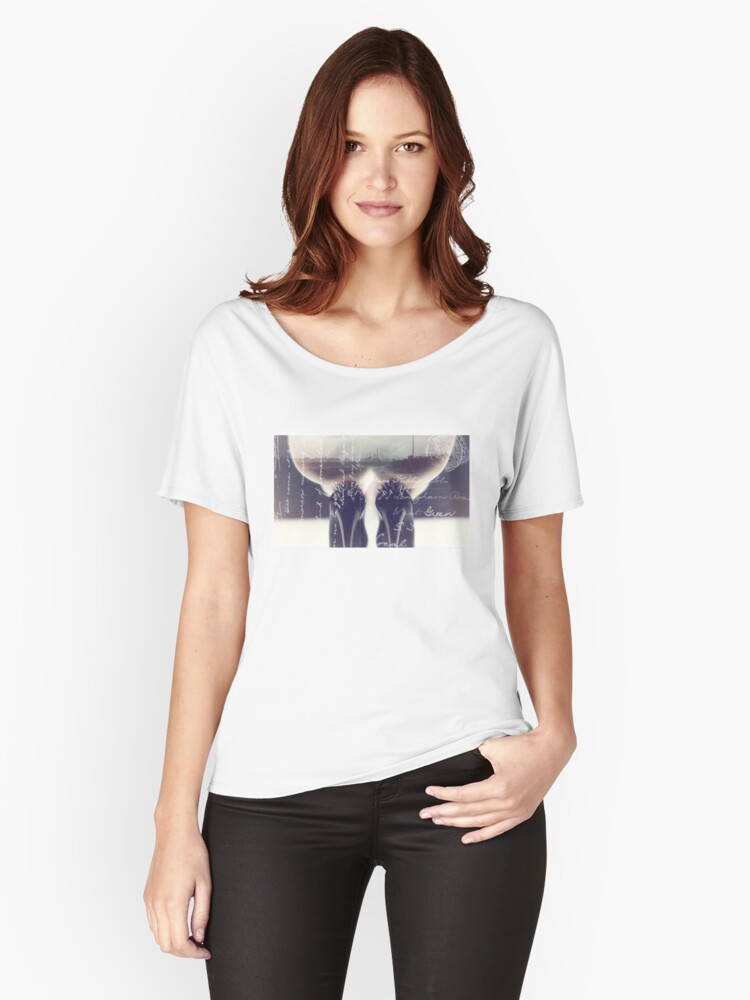 High Heels Women's Relaxed Fit T-Shirt Front