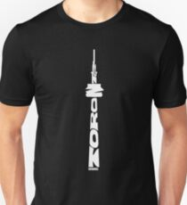 Toronto CN Tower White Unisex T-Shirt