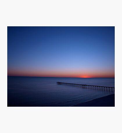 Beach FL Sun Set Photographic Print