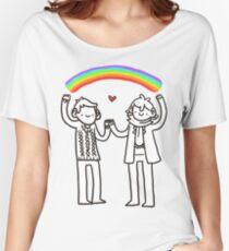 Sherlock and John: Rainbows Women's Relaxed Fit T-Shirt