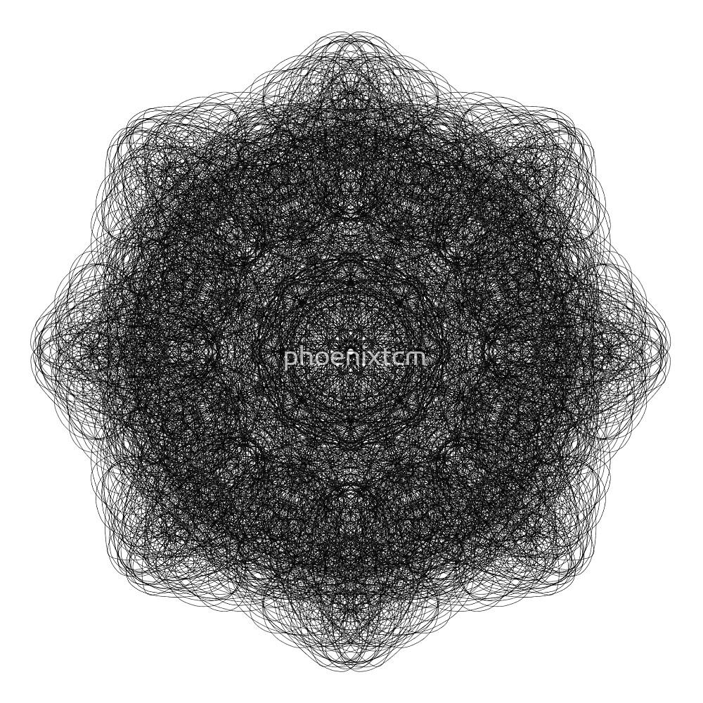 Black lace design by phoenixtcm