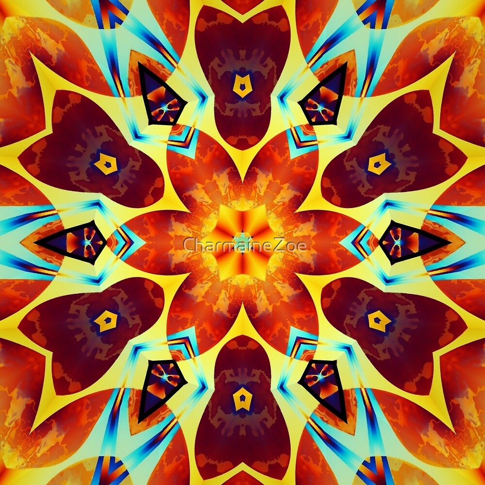 Krazy Kaleidoscope 1027 by CharmaineZoe