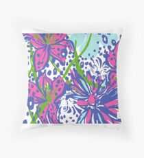 Jungle Leopard - Lily Throw Pillow