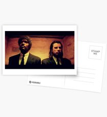 Vinny and Jules (Pulp Fiction) Postcards