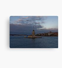 Maiden's Tower, Istanbul, Turkey  Canvas Print
