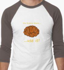 use it orange Men's Baseball ¾ T-Shirt