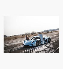 Koenigsegg Regera Photographic Print