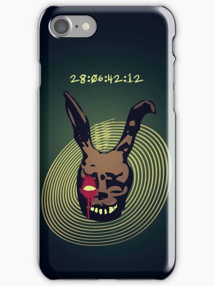 Donnie Darko iphone case by densitydesign